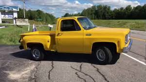 100 Chevy Stepside Truck For Sale 1974 C10 Pickup SweeT Frame Off Restored