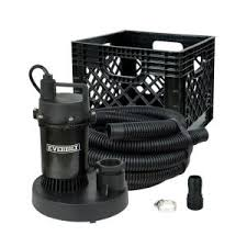 Utility Sink Pump Home Depot by Everbilt 1 4 Hp Submersible Utility Pump Kit Sba025rp The Home Depot