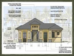 Decorative One Floor Homes by Free 2 Storey House Plans Philippines Homes Zone
