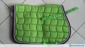 tapis de selle lamycell vert pomme a vendre 2ememain be