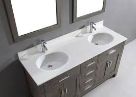 Distressed Bathroom Vanity Gray by Double Sink Bathroom Vanity Kalize 63 French Gray Finish Hand
