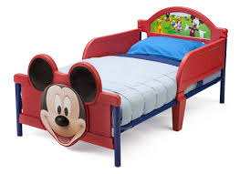 Mickey Mouse Toddler Bed for Boy or Girl