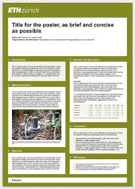 Scientific Poster Example Portrait Format