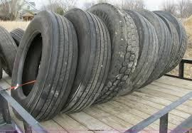 100 Semi Truck Tires For Sale 11 Semi Truck Tires And Truck Chains Item F4858 SOLD