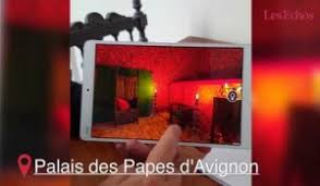 chambre virtuelle visite en réalité virtuelle du palais des papes d avignon sur orange