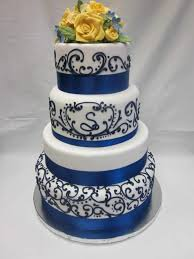 black white topsy turvy ous the Black And Blue Wedding Cakes amber blue black and white