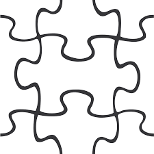 Puzzle Pieces Template Free Download Clip Art For Powerpoint Presentation