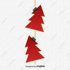 Christmas Tree Made Of Green Ribbon Stock Vector Image