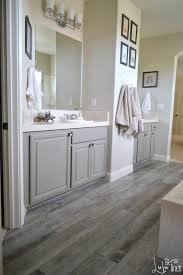 gray wood tile bathroom fpudining