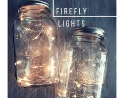 Mason Jar Light Centerpiece Lights Country Wedding Rustic Decorations