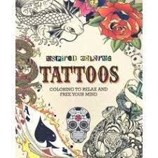 Inspired Coloring Tattoos Color TattoosAdult ColoringColoring BooksWalmart