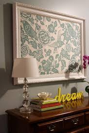Fabric In A Frame EASY DIY