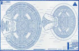 Starship Deck Plan Generator by In 1996 Rick Sternbach Produced Amazingly High Quality And