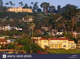 100 Point Loma Houses United States California San Diego Houses Stock Photo
