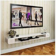 wandhalterung rack schwimmenden tv rack cd empfang wallboard