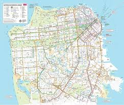California Road Map Pdf Pict Muni System Sfmta San Fransisco With Regard To Francisco