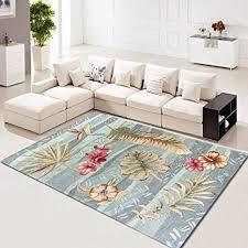 teppich teppiche für wohnzimmer schlafzimmer modernes blume