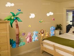 stickers pour chambre d enfant stickers palmier