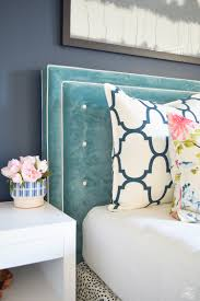 Gray Velvet King Headboard by Navy Blue Headboard Also Inspirations Pictures And Frame Set Ic