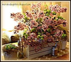 MarvinsDaughters Springtime Table Centerpiece