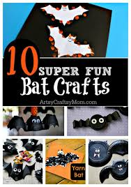 10 Easy Halloween Bat Crafts For Kids