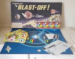 Image Is Loading Vintage Retro Blast Off Board Game Waddingtons 1969