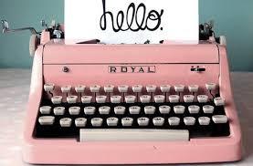 l de collectionner les machines à écrire