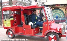 100 Fire Truck Golf Cart New At Tivoli Gardens Vesterbrogade 3 1630