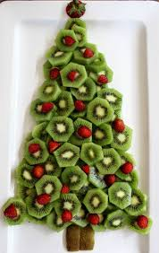 Believe Me Neither Platter Will Last Long Once They Hit The Party Table Kiwi Fruit And Strawberry Christmas Tree