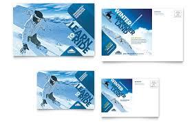 Travel Agency Postcard Design