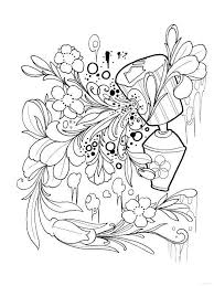 26 Best Coloring Pages Phee McFaddell Faeries Images On