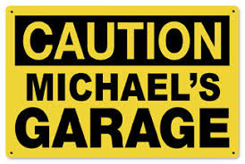 Garage Signs Personalized Garage Signs