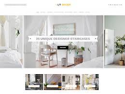 100 Home Decorating Magazines Free LT Decor Interior Website Template