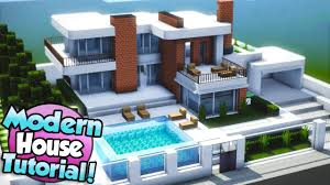 100 Modern Houses Photos Minecraft How To Build A Large House Tutorial 15