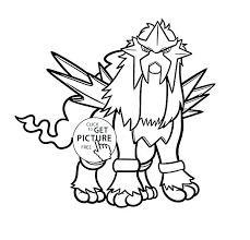 Pokemon Coloring Pages Legendary For Kids Characters Free