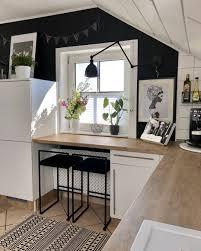 weltenbunt küche oase diy renovieren holz folie weiß