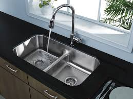 Overmount Double Kitchen Sink by Top Rated Undermount Kitchen Sinks Double Sink Size Kitchen Sink
