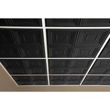 Genesis Ceiling Tiles Home Depot by Genesis 2 Ft X 2 Ft Antique Black Ceiling Tile 752 07 The Home