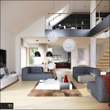 Interior Project And Visualizations Of A Housing Project
