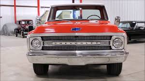 100 Chevy Truck 1970 C10 Orange White YouTube