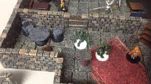 dwarven forge game tile meets hirst arts molds youtube