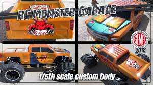 100 Custom Rc Truck Bodies SEMA Show Paint Job On 5th Scale RC Monster Body For