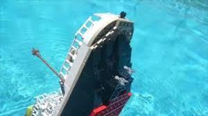 Lego Ship Sinking 3 by Lego Ship Sinking 3