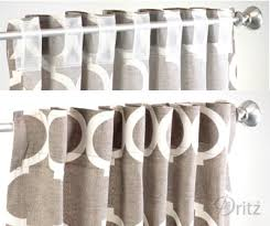 Dritz Home Curtain Grommets Instructions by How To Add Dritz Rod Loop Tape To Store Bought Curtain Panels Sew