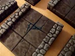 excellent first attempt at hirst arts d d dungeon tiles youtube