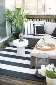 Co Founders Scandinavian Inspired Apartment Outdoor Living SpacesOutdoor AreasSmall PatiosSmall