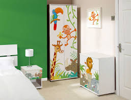 Jungle Room Decorating Ideas Themed Kids Bedroom