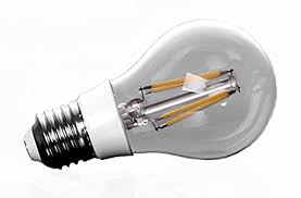 a19 led filament bulb edison style 8w to replace 100w incandescent