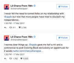 Big Krit Money On The Floor Soundcloud by Chance The Rapper Reveals Details Of His Exclusive Deal With Apple