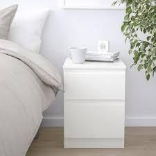kullen kommode mit 2 schubladen weiß 35x49 cm